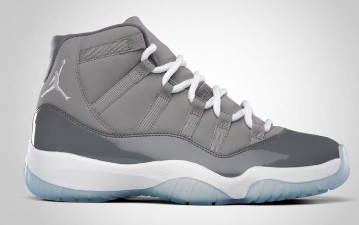 Air Jordan Retro 11 Medium Grey White Cool Grey