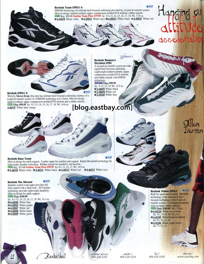 e2f2abf4c94 Eastbay Memory Lane  Reebok Basketball 1998