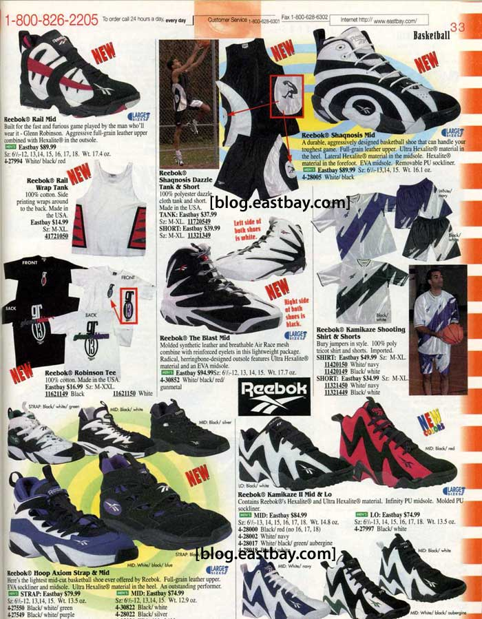 cf309e95468 Eastbay Memory Lane  The Reebok Kamikaze II