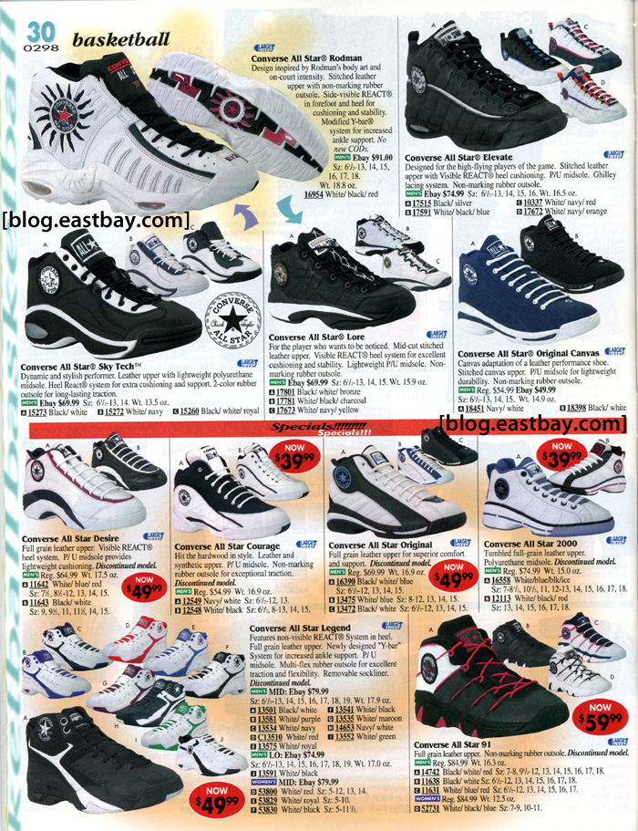 Converse Basketball - Eastbay Memory Lane