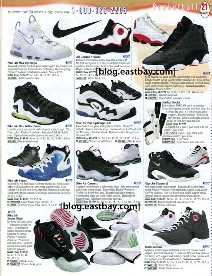20dd86c733b1 Eastbay Memory Lane   98 Basketball Gems