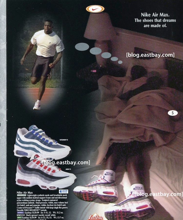 100% authentic 41552 00b62 Eastbay Memory Lane: Classic Nike Air Max 95 Ad | Eastbay Blog ...
