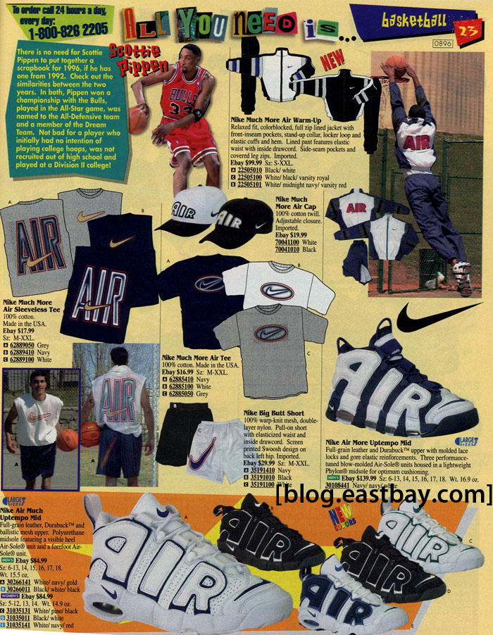 Eastbay Memory Lane  Scottie Pippen and the Nike Air More Uptempo Olympics e57df8a44f99