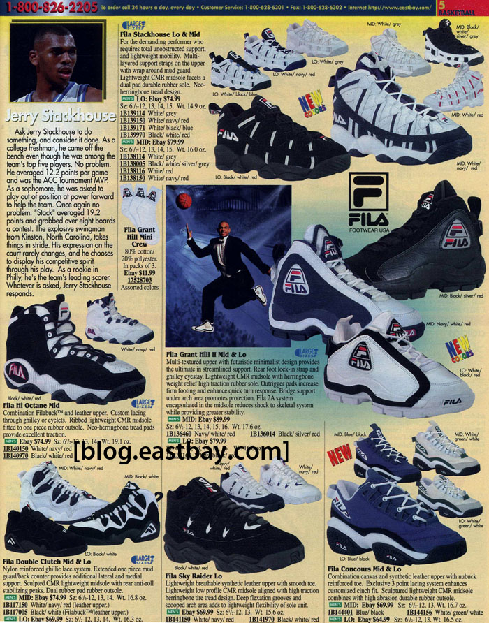 9f88c5b619c2 Eastbay Memory Lane  FILA Basketball 1996
