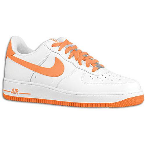 33548d5da49f Available  Nike Air Force 1 Low – White Total Orange