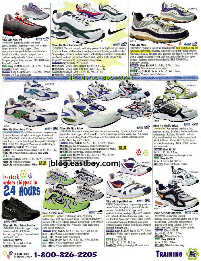 76f5afc342 Eastbay Memory Lane: Nike Running Classics from 1998 | Eastbay Blog ...