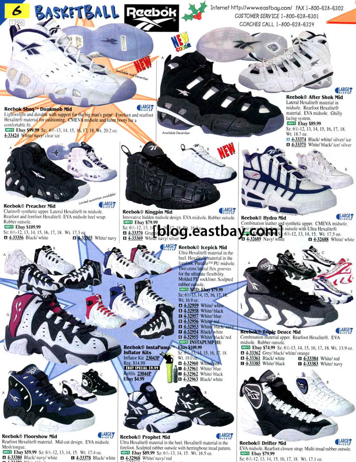 5f1e3e2b6c3 Eastbay Memory Lane    Reebok Basketball Classics From 1996 ...