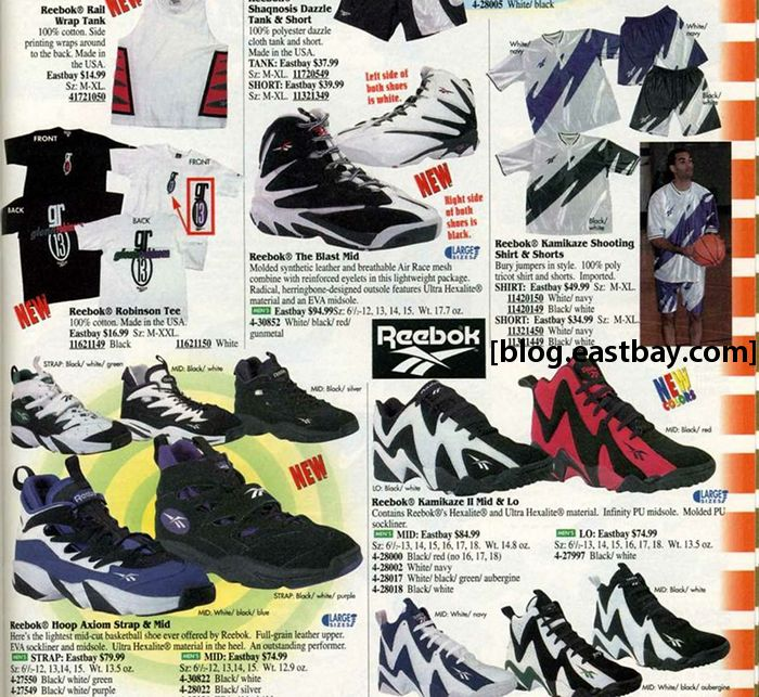 0e488be49ac Eastbay Memory Lane    Reebok Kamikaze II Mid   Low