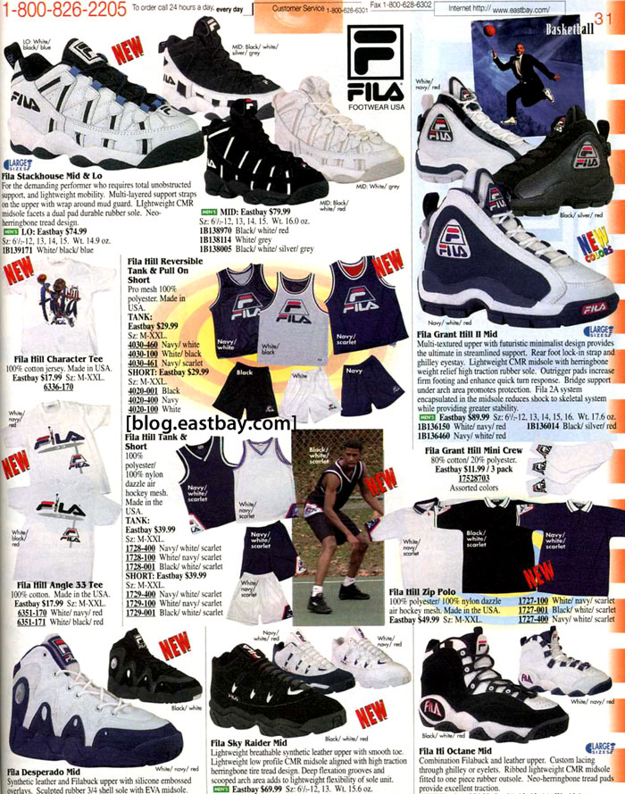 d71db4733e8 Eastbay Memory Lane: FILA Grant Hill II and Apparel | Eastbay Blog ...