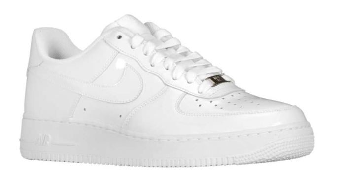 Available: Nike Air Force 1 Low – White Patent