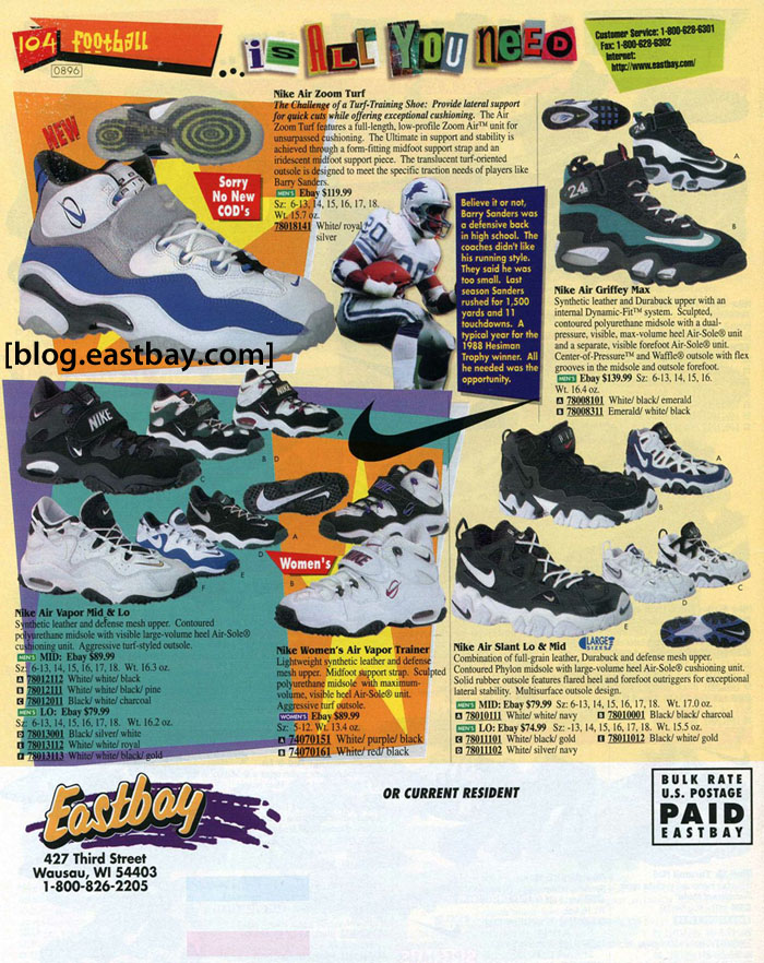 best loved c49c7 f9b98 Eastbay Memory Lane  Nike Training 1996