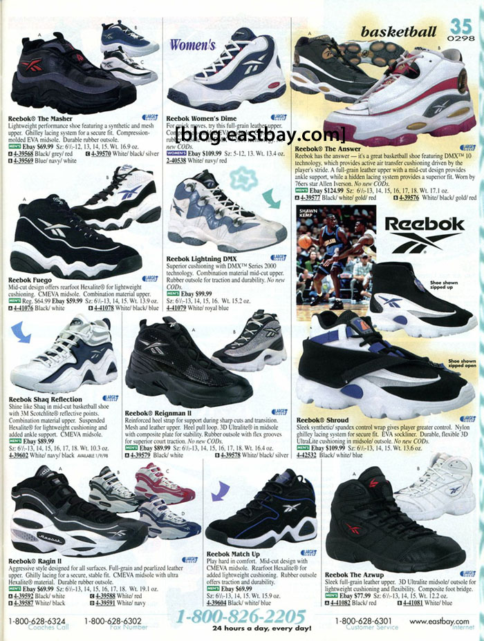 6d682db6da7 Eastbay Memory Lane    Reebok Basketball 1998 Featuring The Answer 1 ...