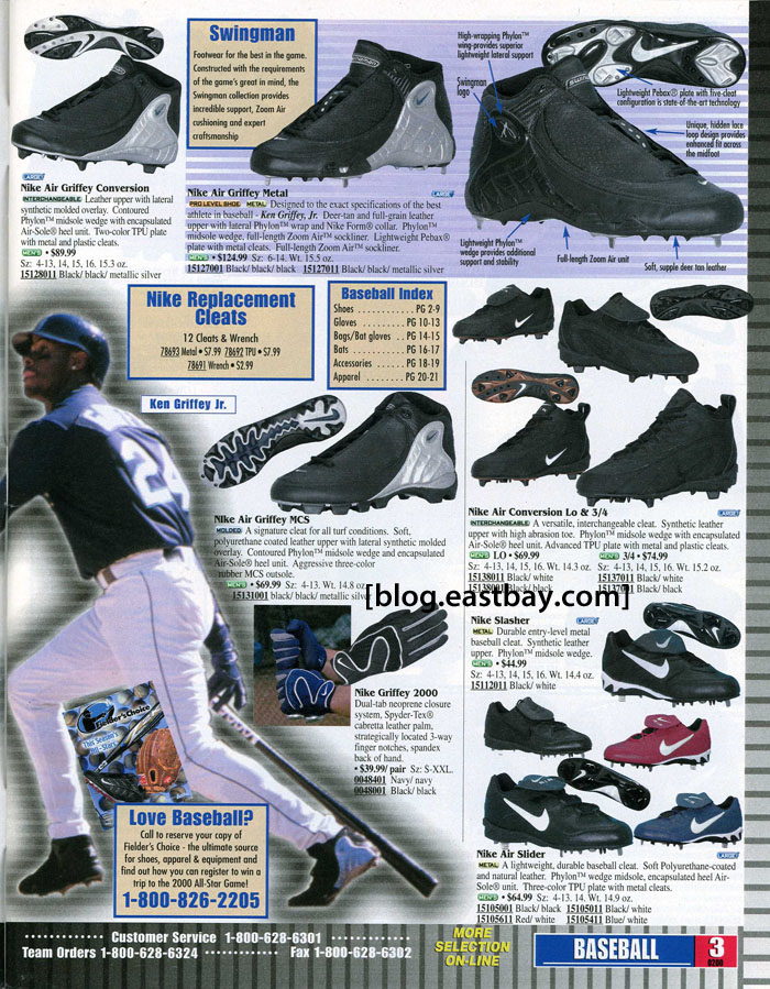 092cfbe33 Eastbay Memory Lane    Ken Griffey Jr. for Nike Baseball Spring 2000 ...