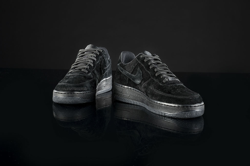watch d302d 41d9b Available 8 22  Nike Air Force 1 Low  Triple Black