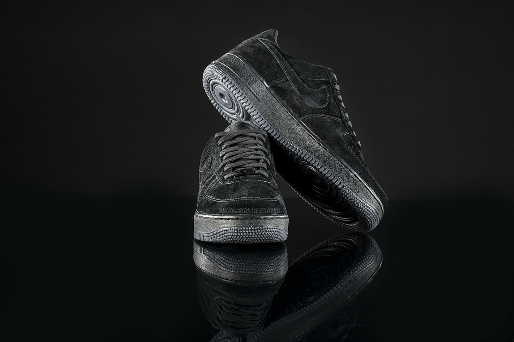 reputable site e340a 0d816 Nike Air Force 1 Low  Triple Black  (3)