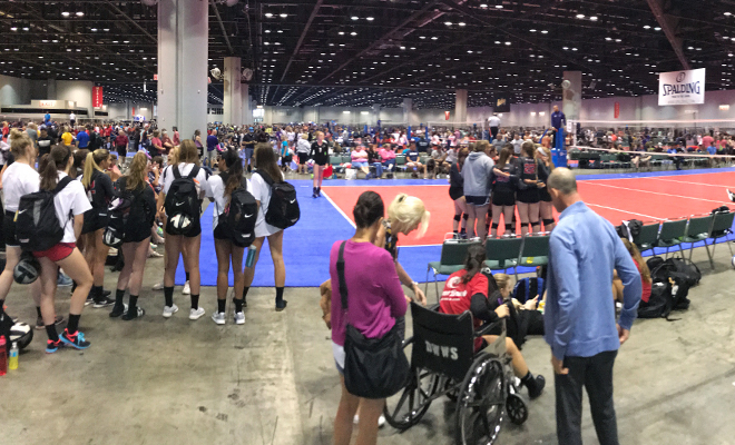 AAU Volleyball Championships 2017
