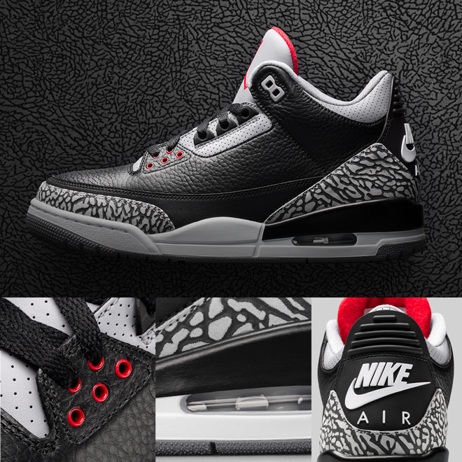 promo code 0e96b 3c8d4 A Look Back  The Air Jordan 3  Black Cement    Eastbay Blog ...