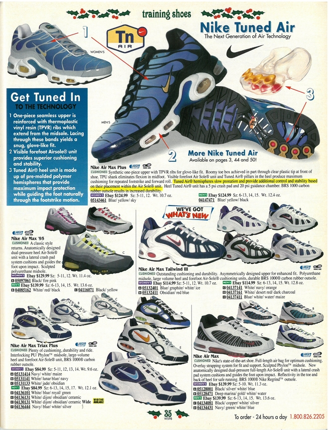 A Look Back: Nike Air Max Running in 1998 | Eastbay Blog ...