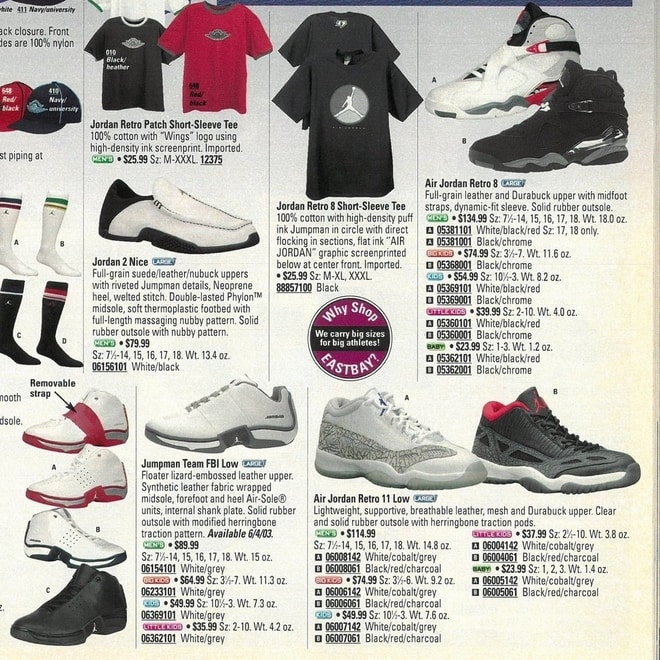 0e4178c46146 A Look Back  June 2003 — Sneaker History 15 Years Ago   Eastbay ...