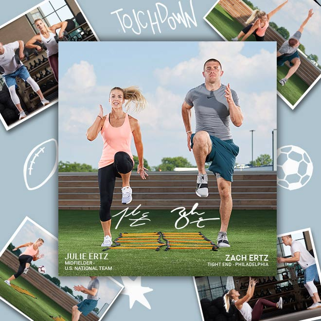 The Ultimate Training Partners: Zach and Julie Ertz