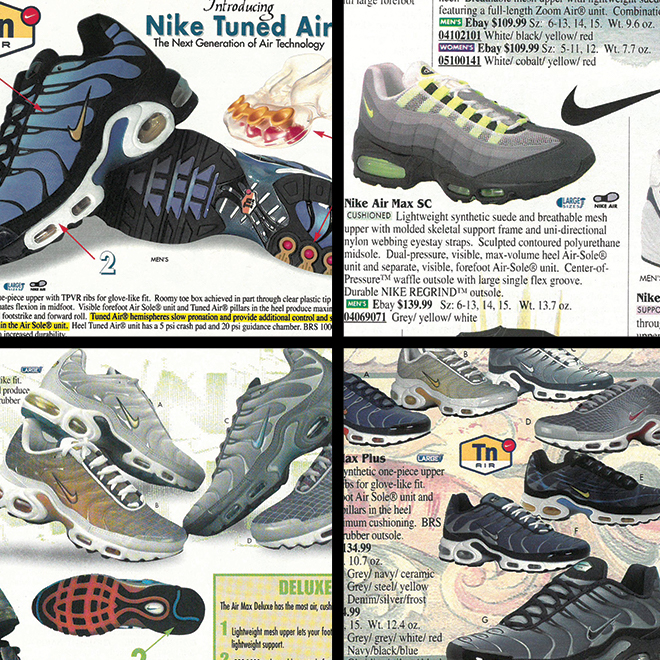detailed look 7a28c 2a825 A Look Back: The Air Max 95 and Air Max Plus | Eastbay Blog ...