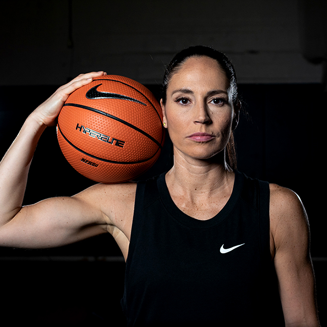 Sue Bird Half Body Shot