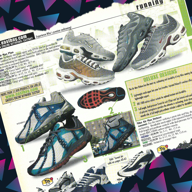 huge selection of b1f1f d763c The Air Max Tailwind line continued in 2000 with the Tailwind 5, which  featured Tuned Air instead of an Air Max heel unit. There was also a  visible Air-Sole ...