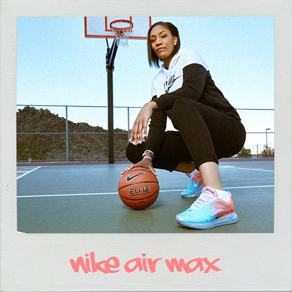 A'ja Wilson and Air Max