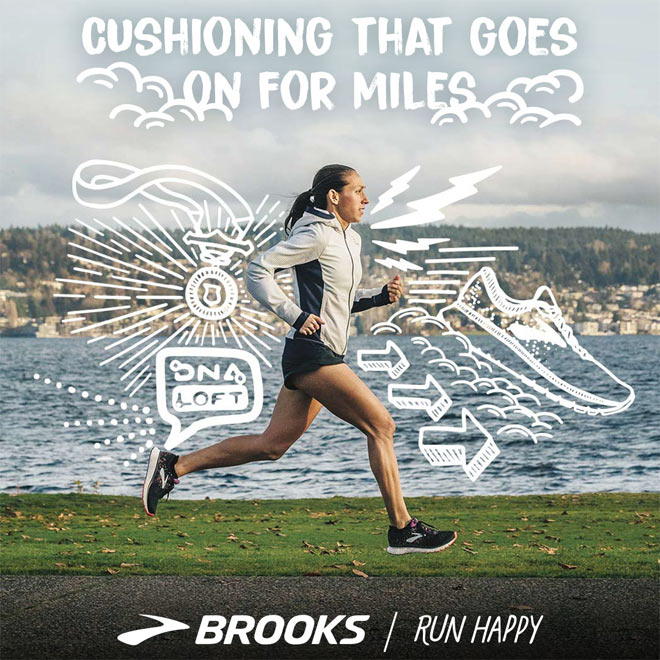 It Takes Two: Desiree Linden and Brooks Glycerin