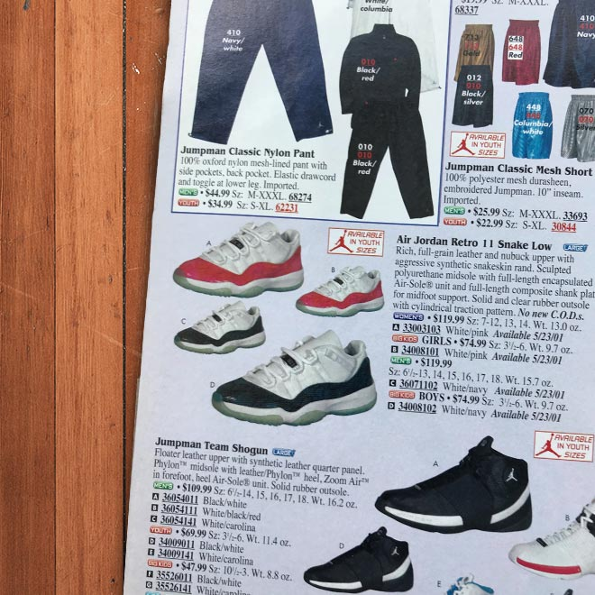 14e2ba20028 With the all the success of the Air Jordan XI back in '95-'96, Nike and ...