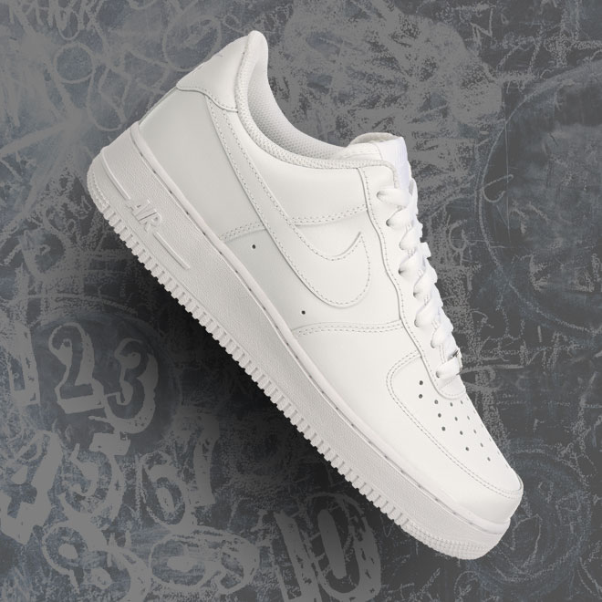 Men's Nike Air Force 1 Low -- All White