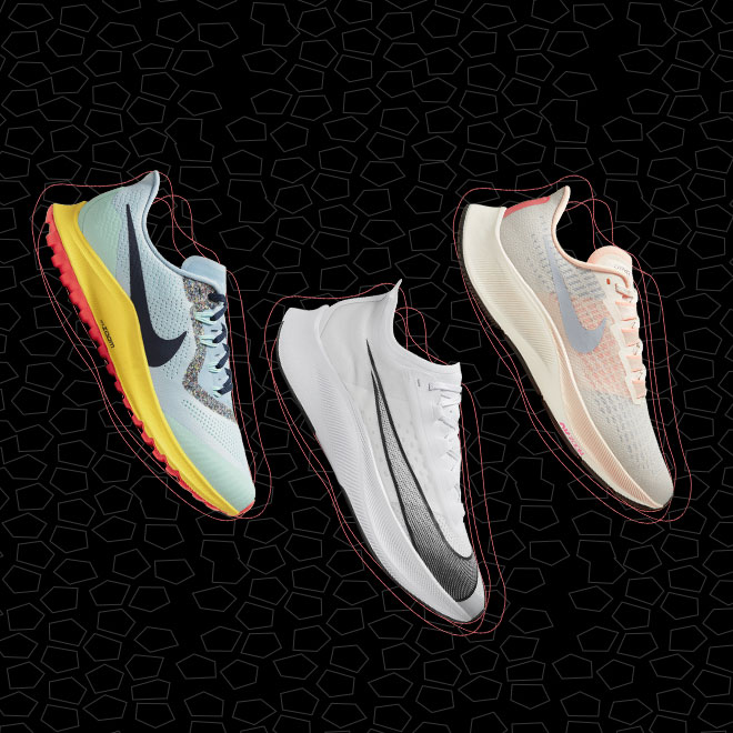 The Differences Between the Nike Zoom Running Shoes