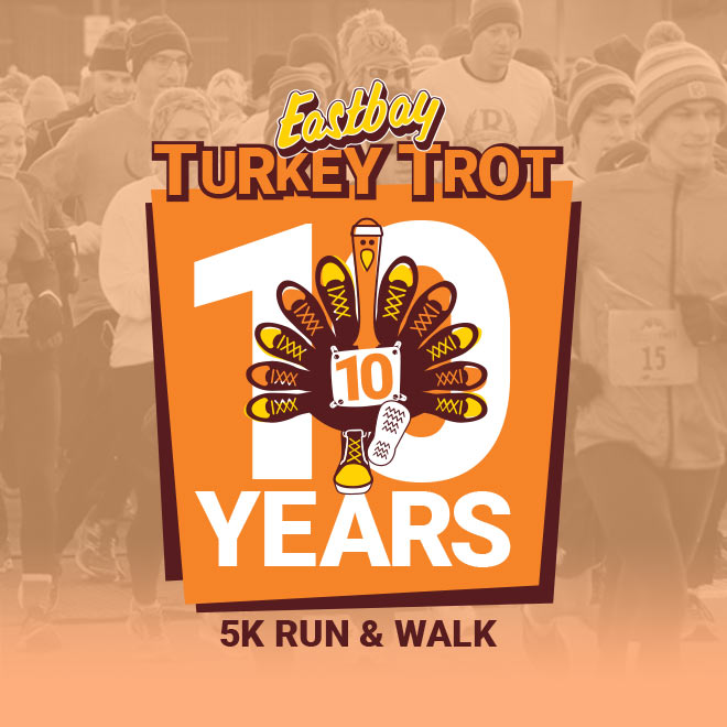 Eastbay's Turkey Trot: A Decade of Making a Difference