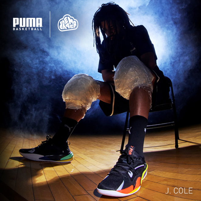 Dream Big: J. Cole and Puma Launch Signature Sneaker Together