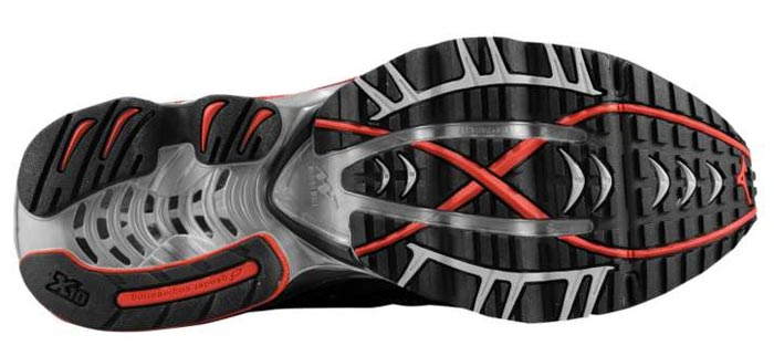 Mizuno Wave Prophecy Anthracite/Gold Outsole