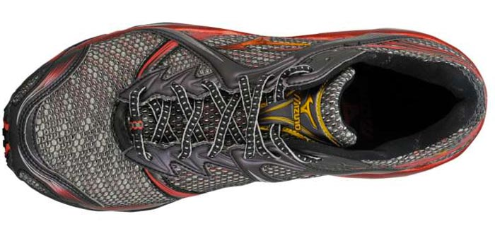 Mizuno Wave Prophecy Anthracite/Gold Tongue