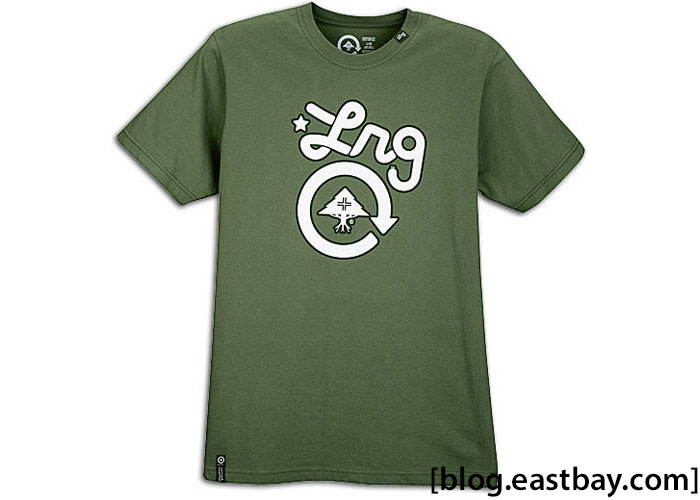 LRG Core Collection One S/S T-Shirt Olive Drab