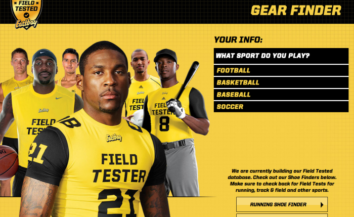 """Eastbay Launches All-New """"Gear-Finder"""""""
