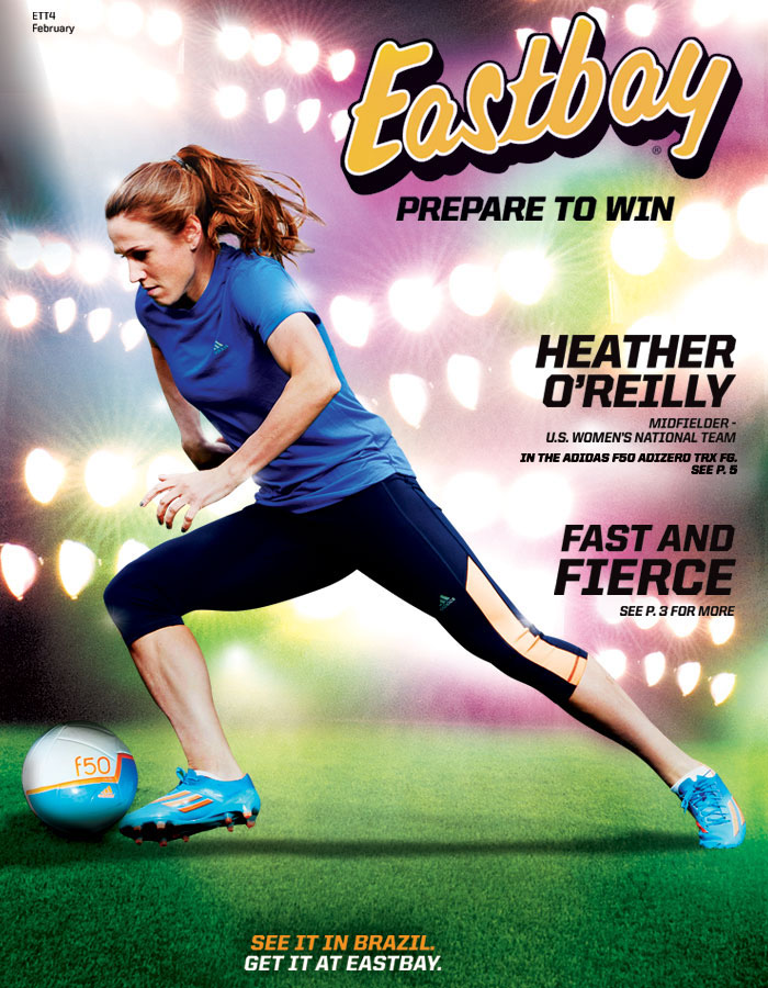 Heather O'Reilly Highlights Eastbay's Latest Cover