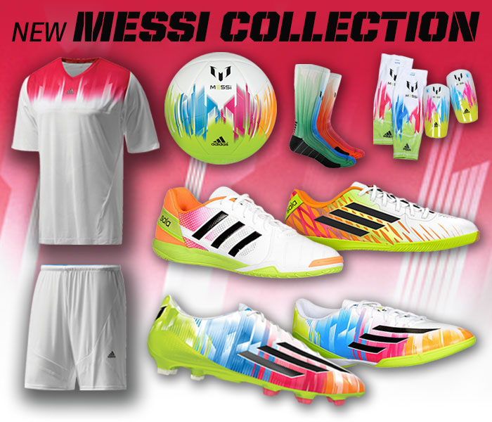 Soccer: New adidas Messi Collection
