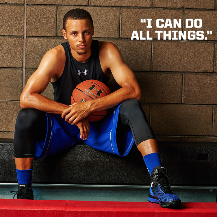 Stephen Curry - I can do all things