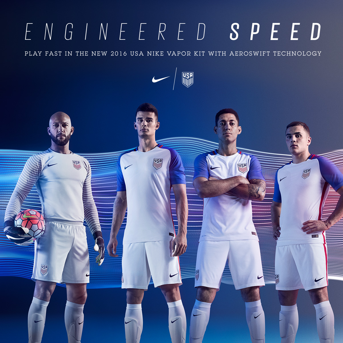 Your Team. Your Country: The New U.S. Men's Soccer Kits