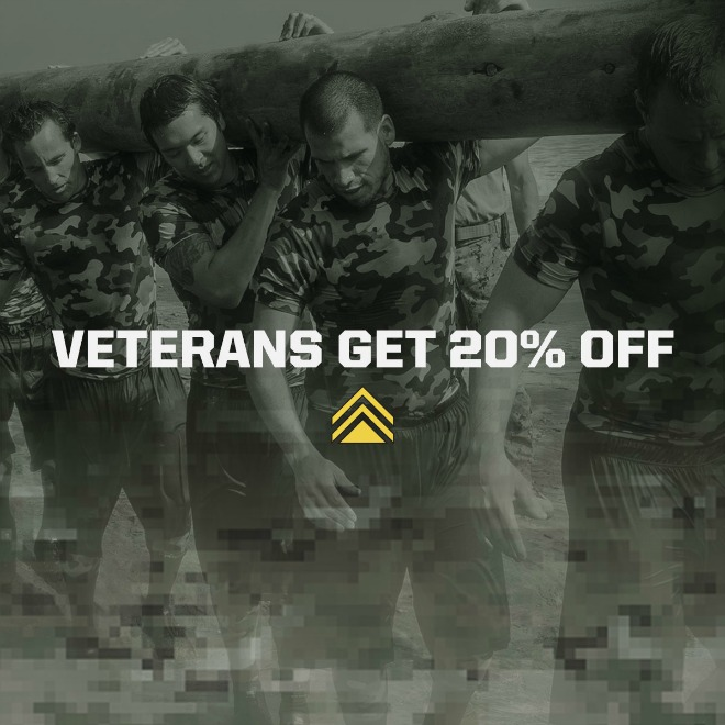 Helping Out Our Heroes: Men And Women In The Military Save 20%