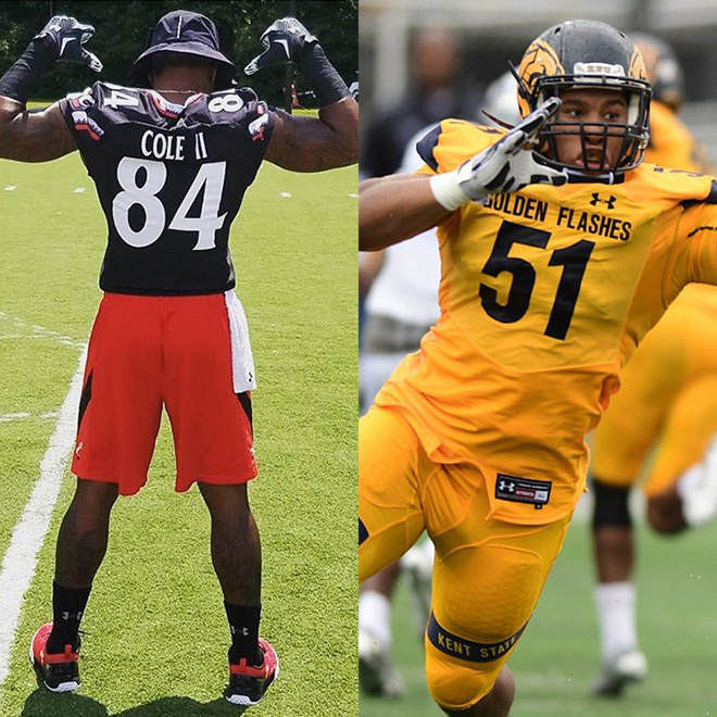 A look Into Two NFL Hopefuls' Lives Prior To The Draft