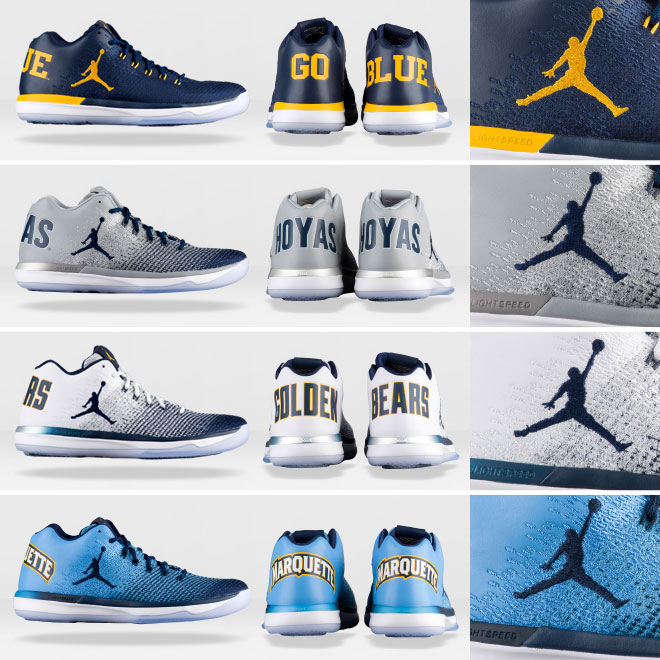 Check Out The Team-Inspired AJ XXXI Low PEs