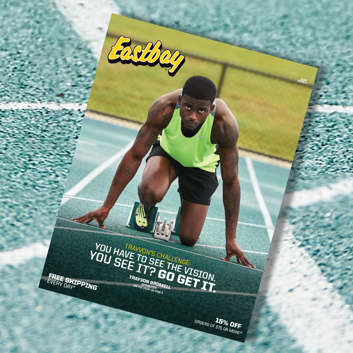 Trayvon Bromell: See The Vision