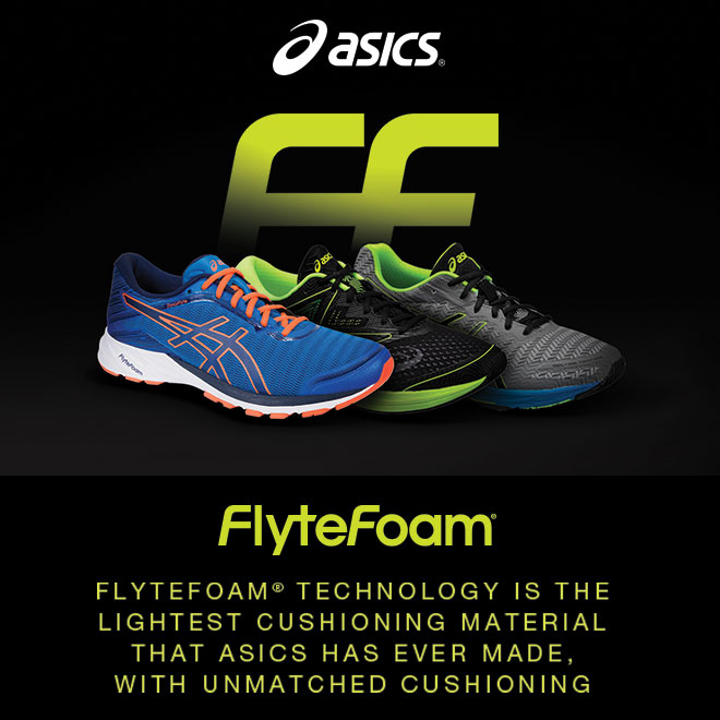 ASICS FlyteFoam: A Feeling Of Fast For Everyone