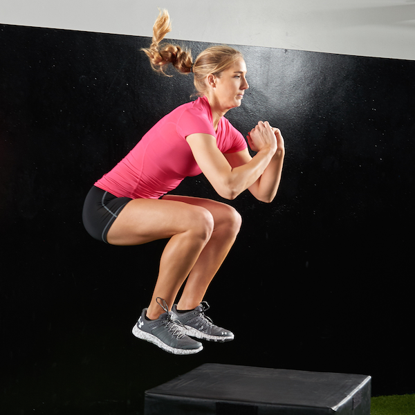 Building Explosiveness with Box Jumps