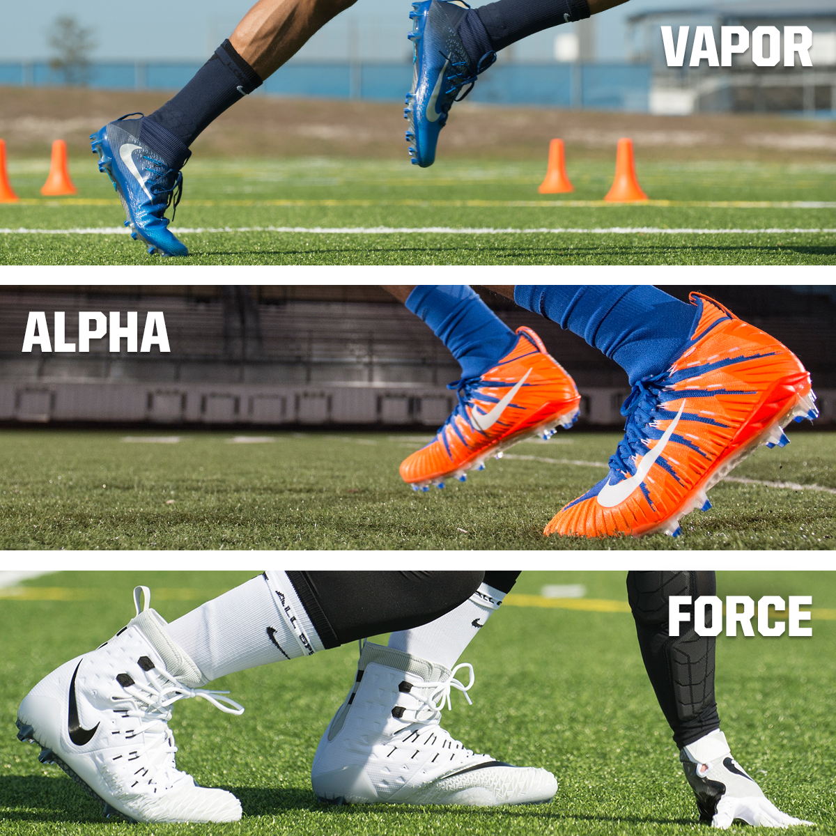 Nike Football Cleats: Will You Lace Up Like Odell, Russ, or Khalil?