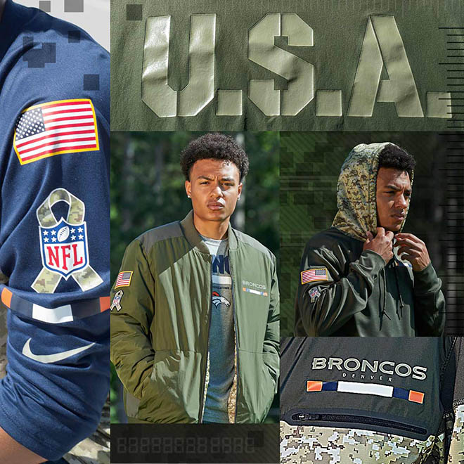November Is Here And That Means New Nike NFL Salute To Service Gear!